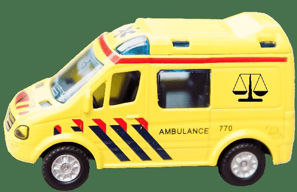 avocat victimes de dommage corporel ambulance