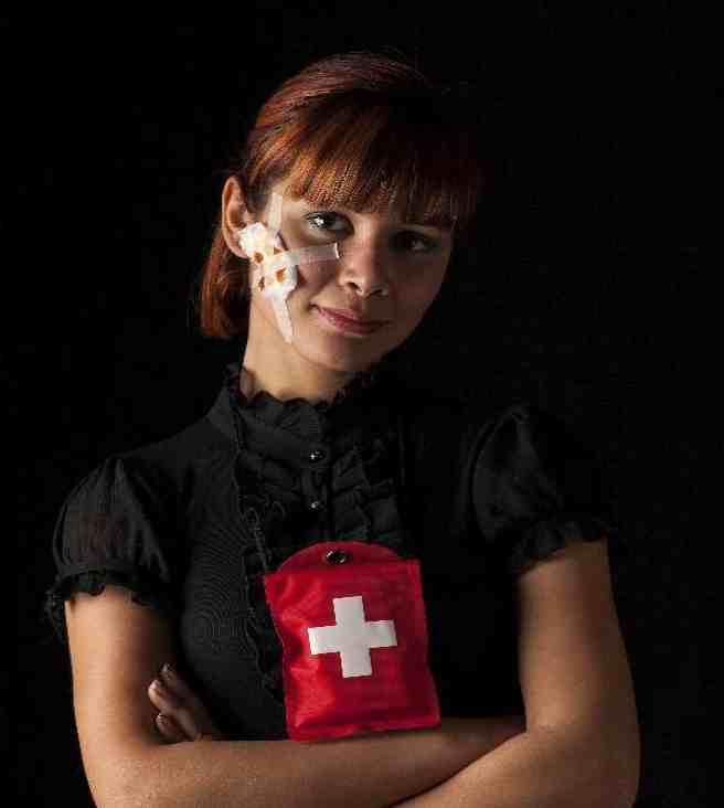 dommages corporels une jeune femme blessée