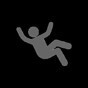 victimes de chutes